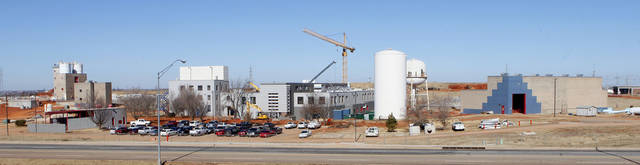 The Oklahoma City water treatment plant is shown Thursday north of the Hefner Lake dam.  Photo by Paul B. Southerland, The Oklahoman