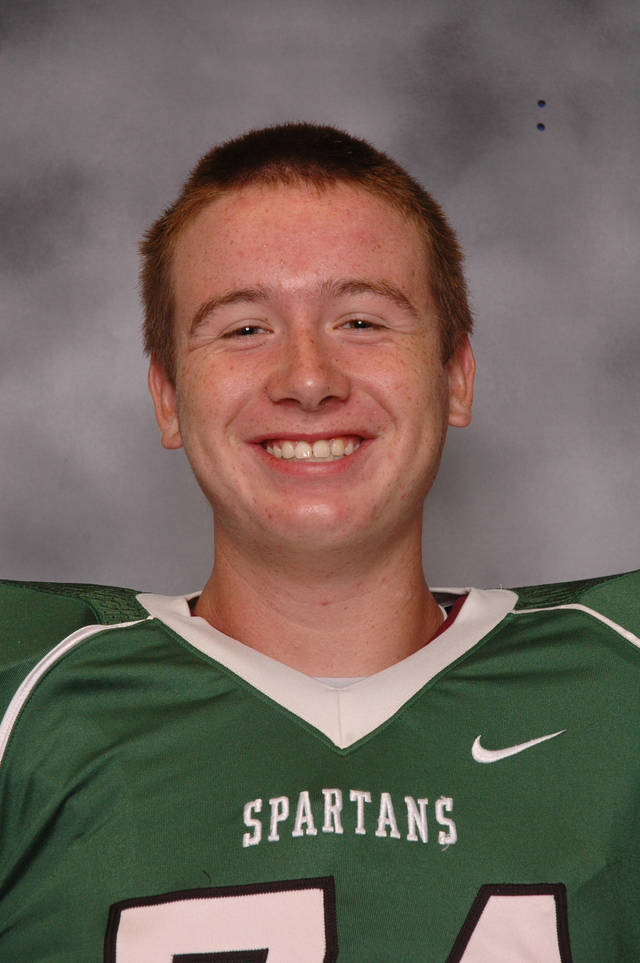 OU football recruit Christian Daimler. PHOTO PROVIDED <strong></strong>