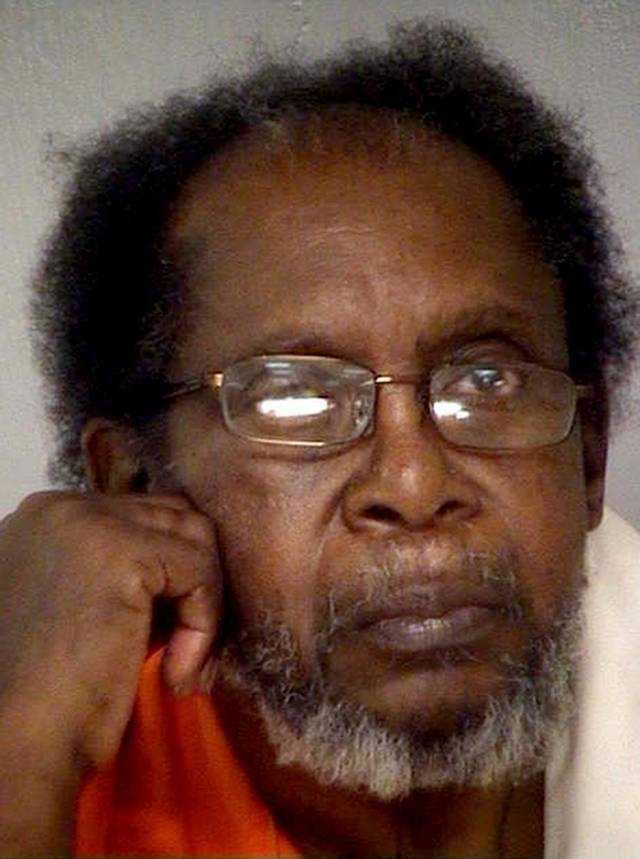 This handout photo provided by the Bibb County Jail, shows Frank Louis Reeves, of Macon, Ga. Police said in a statement that Reeves' motorized wheelchair bumped into 65-year-old Linda Hunnicutt's car  Tuesday, Dec. 4, 2012  at a Murphy Express station, who exchanged words with the 73-year-old Reeves. Police say Hunnicutt got out of her Buick Lucerne, and Reeves drew a gun and shot her in the chest. Hunnicutt, who is from Jones County, was taken to the Medical Center of Central Georgia where she died. (AP Photo/Courtesy of the Bibb County Jail)