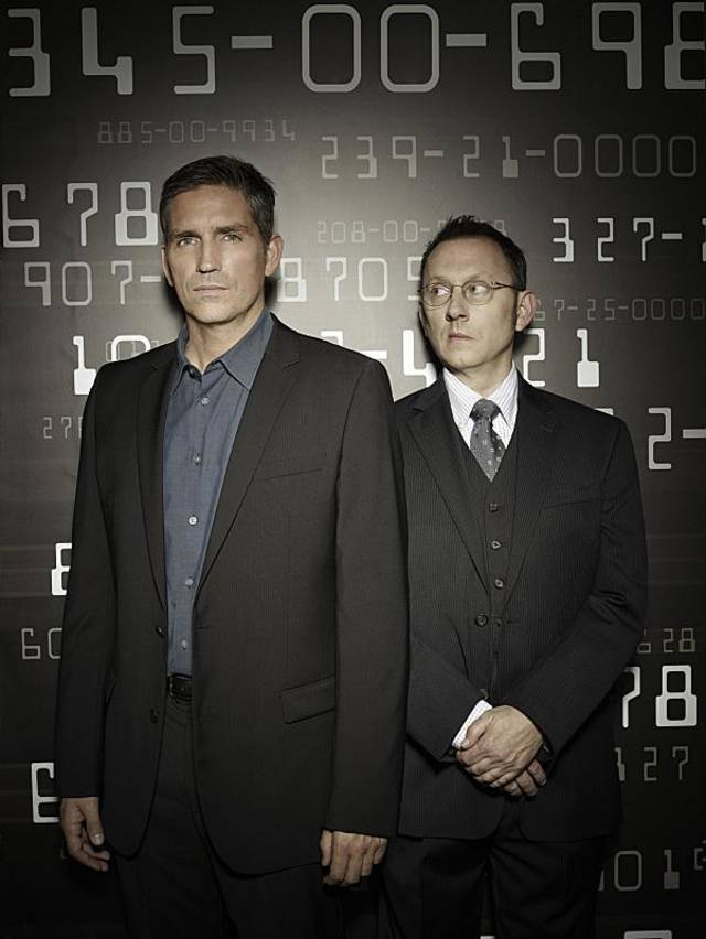 Jim Caviezel, left and Michael Emerson, right star in PERSON OF INTEREST, on the CBS Television Network.  Photo: Michael Muller/CBS  ©2011 CBS Broadcasting Inc. All Rights Reserved