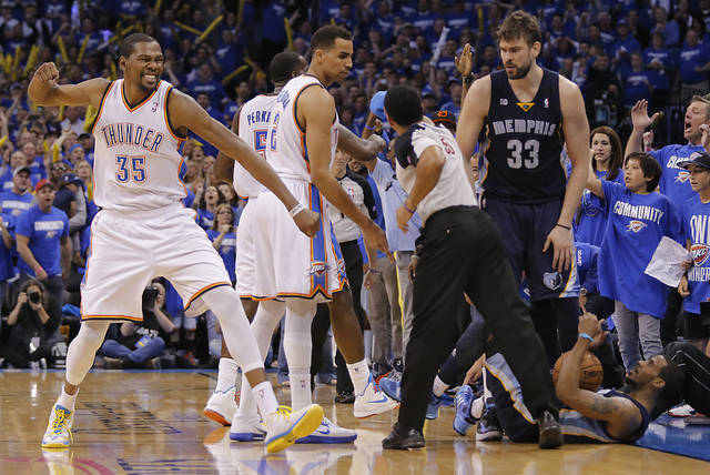 Did seven games with Memphis wear the Thunder down? Doc Rivers is skeptical. Photo by Chris Landsberger, The Oklahoman