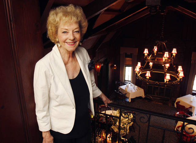 Marian Thibault is the owner of The Haunted House Restaurant in Oklahoma City, OK, Tuesday, September 4, 2012,  By Paul Hellstern, The Oklahoman