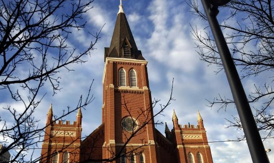 Oklahoma City Times  Downtown Okc Business  Development News  Okc Church Lights Up Cross For First Time In More Than  Years