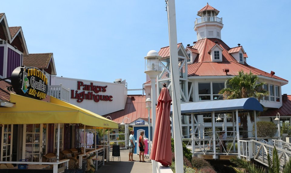 Parkers Lighthouse Restaurant Is The Anchor Business In Sline Village Area Of Long Beach