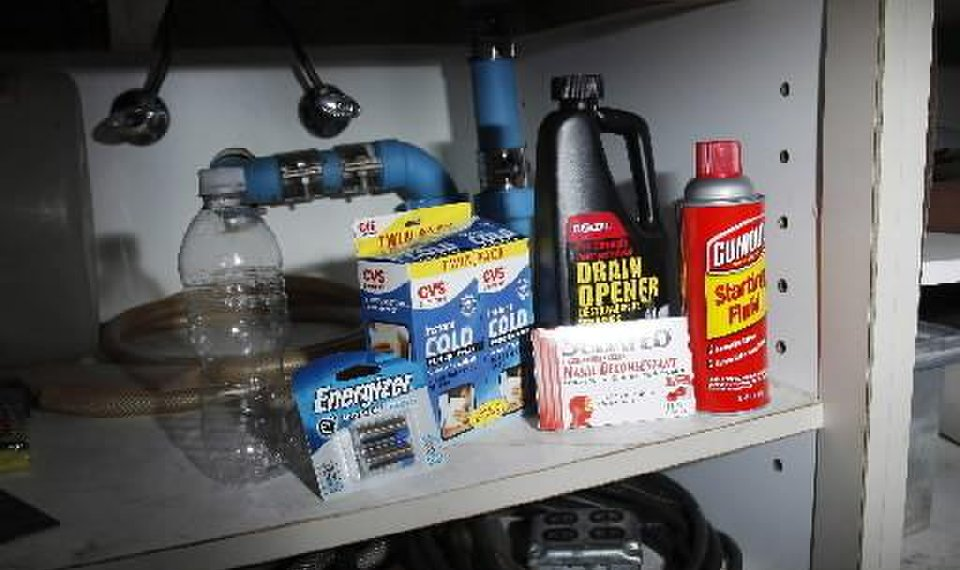 related photos ingredients for shake and bake meth lab under a sink friday july