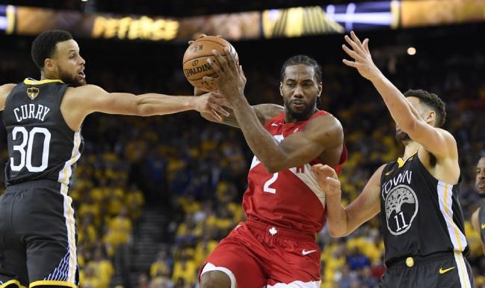 5bf0c2097a4 Trades for Paul George & Kawhi Leonard paid off, but Toronto's gamble has  Raptors on brink of NBA title