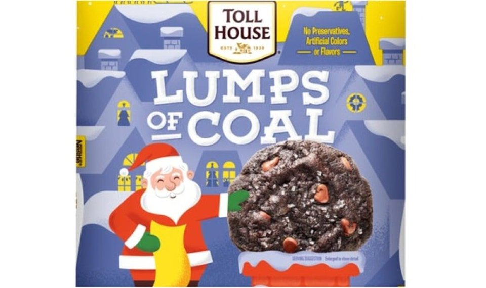 Lumps Of Coal Cookie Dough Is Perfect For Anyone Who S Been