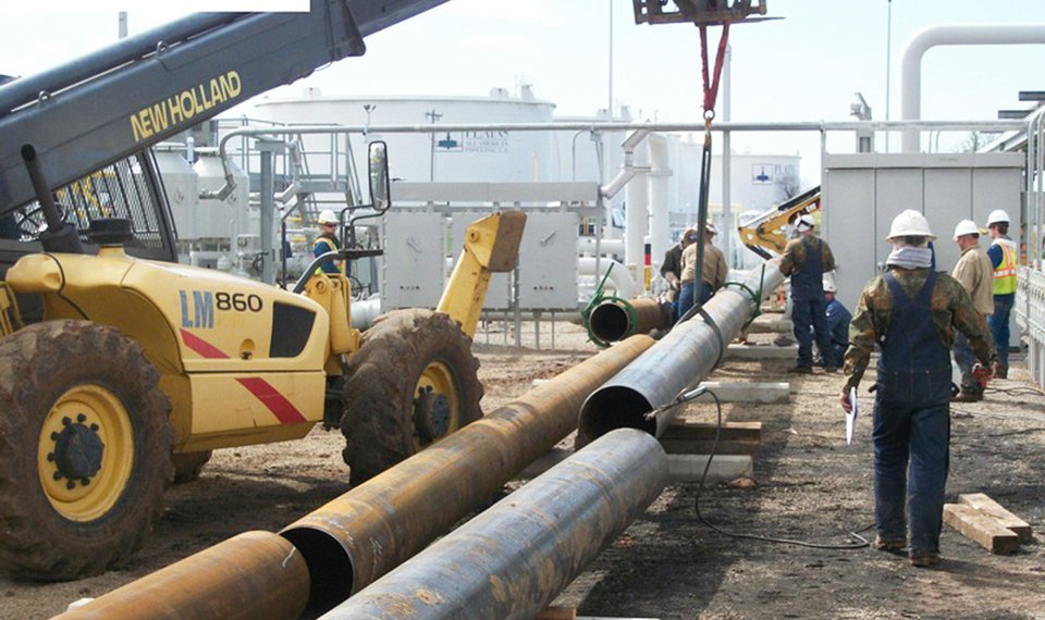Seaway pipeline is about ready to move oil out of Cushing