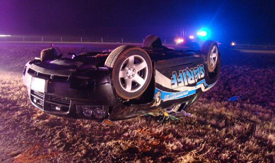 Oklahoma man loses legs after police chase