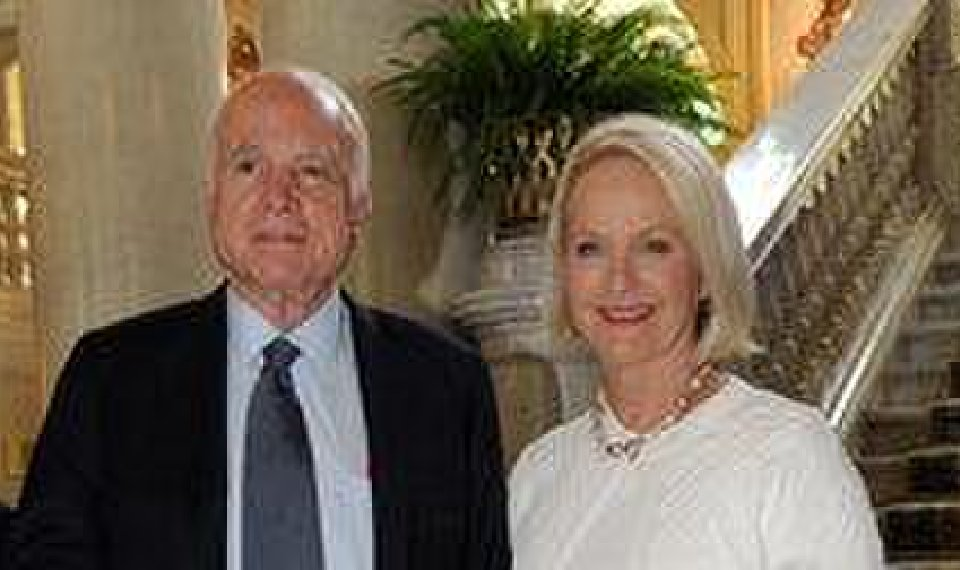 Cindy McCain Shares Nasty Message From Harasser On John