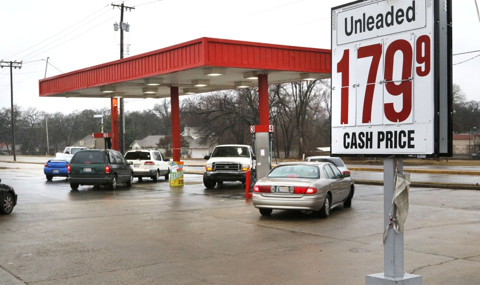 Gas Prices Okc >> Gas Prices Continue To Fall In Okc