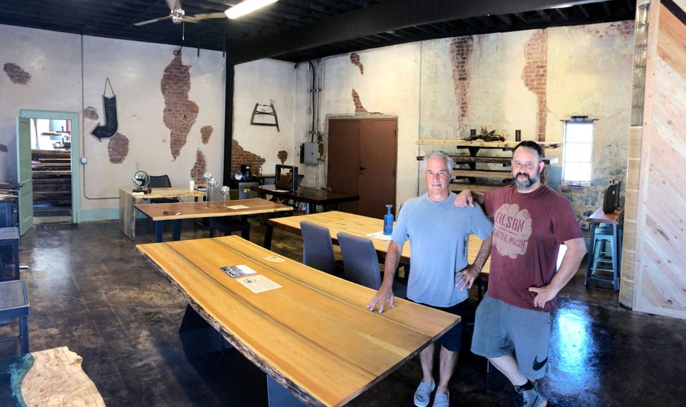 Father And Son Team Building Custom Woodworking Business