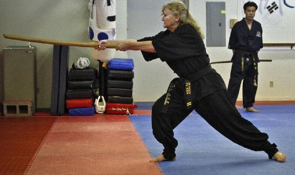 Oklahoma City woman, 68, getting a kick out of martial arts