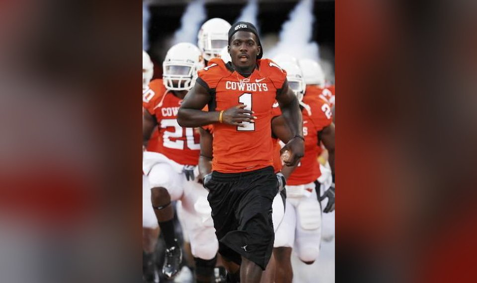 Osu Football Notebook Dez Bryant Zac Robinson And Russell