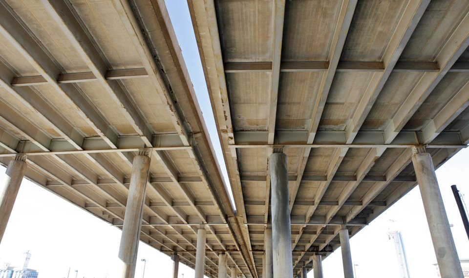 Beams from elevated I-40 Crosstown to be given to counties
