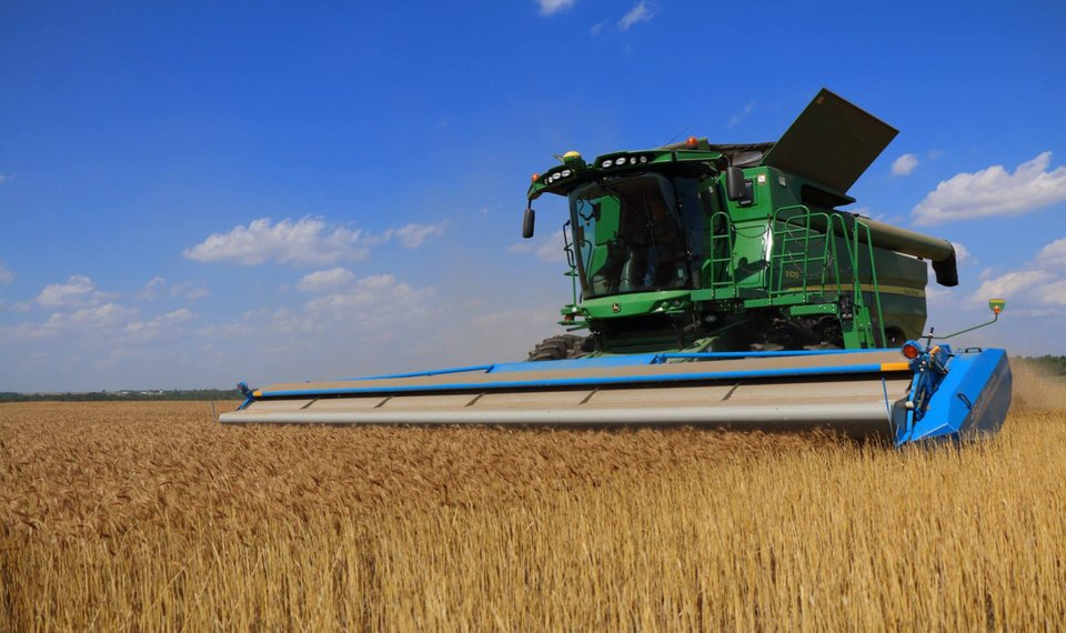 While the ongoing drought hurt Oklahoma's wheat production