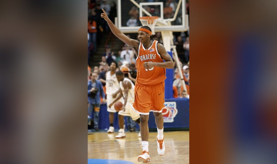 f203fd37e14 Carmelo Anthony terrorized the Big 12 in the 2003 NCAA Tournament