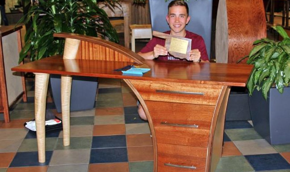 Achievers Mustang Students Qualify For Woodworking Show