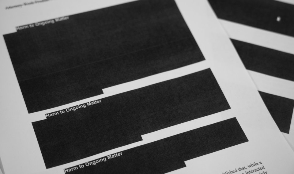 Image result for redacted pages no collusion