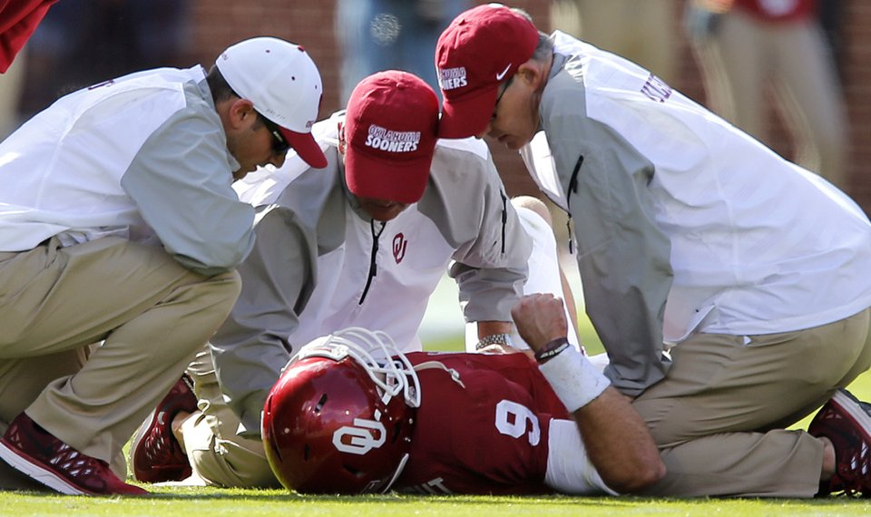 Oklahoma football: Trevor Knight's shoulder '100 percent'