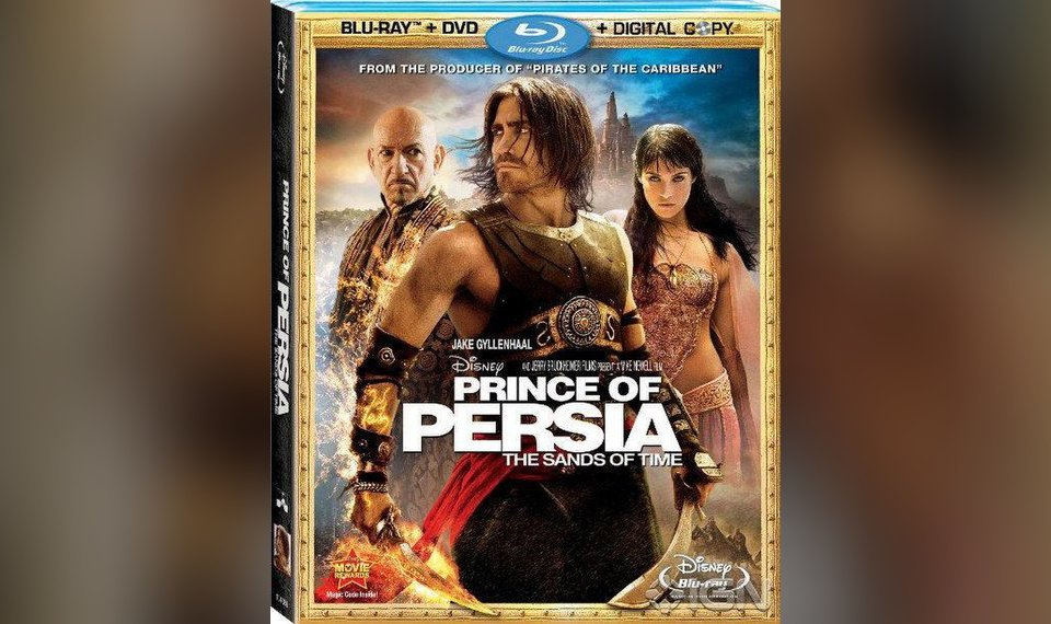Dvd Review Quot Prince Of Persia The Sands Of Time Quot
