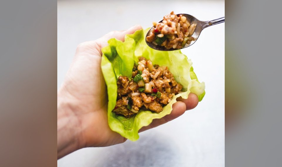 Lettuce Wraps Are The Perfect Low Carb Vehicle For Chicken