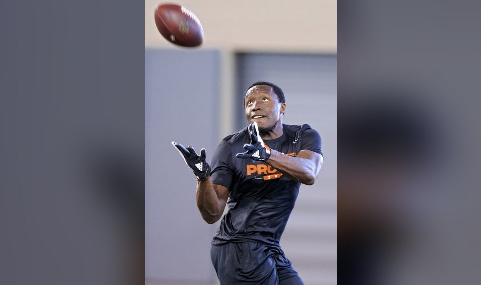 0a9f0637f1b Former Oklahoma State receiver James Washington is expected to be an early  round pick in the