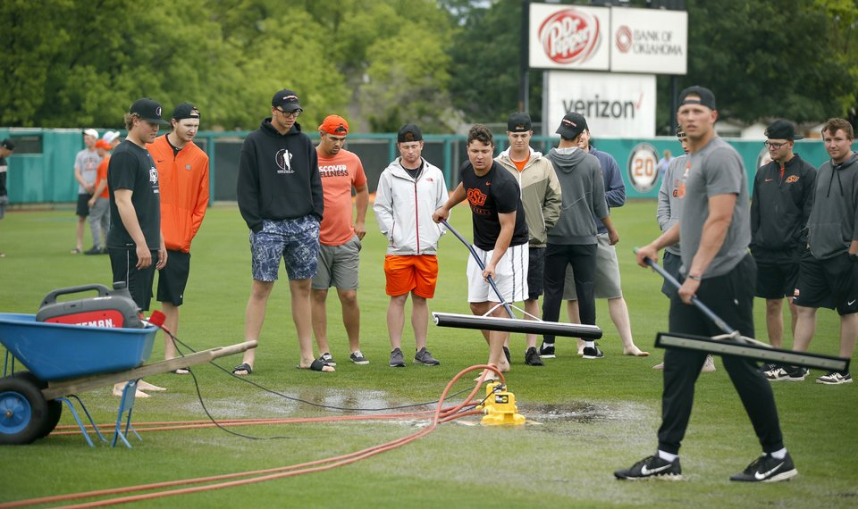 OSU baseball: Regular season finale at Allie P. canceled because of wet field conditions