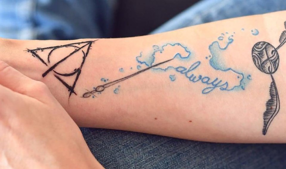 101 Harry Potter Tattoos That Would Make J K Rowling Proud