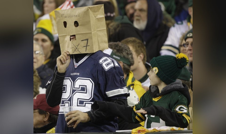 Packers Head For Super Bowl In Blur Of >> Green Bay Packers Rout Dallas Cowboys 45 7