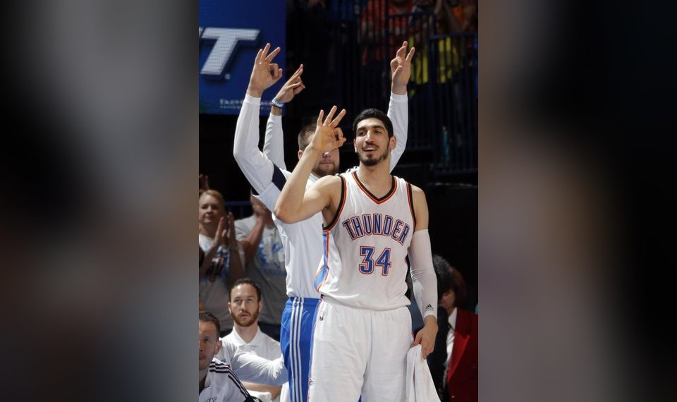 03c4a438d95 OKC Thunder: Enes Kanter's twisted, complicated, controversial path ...