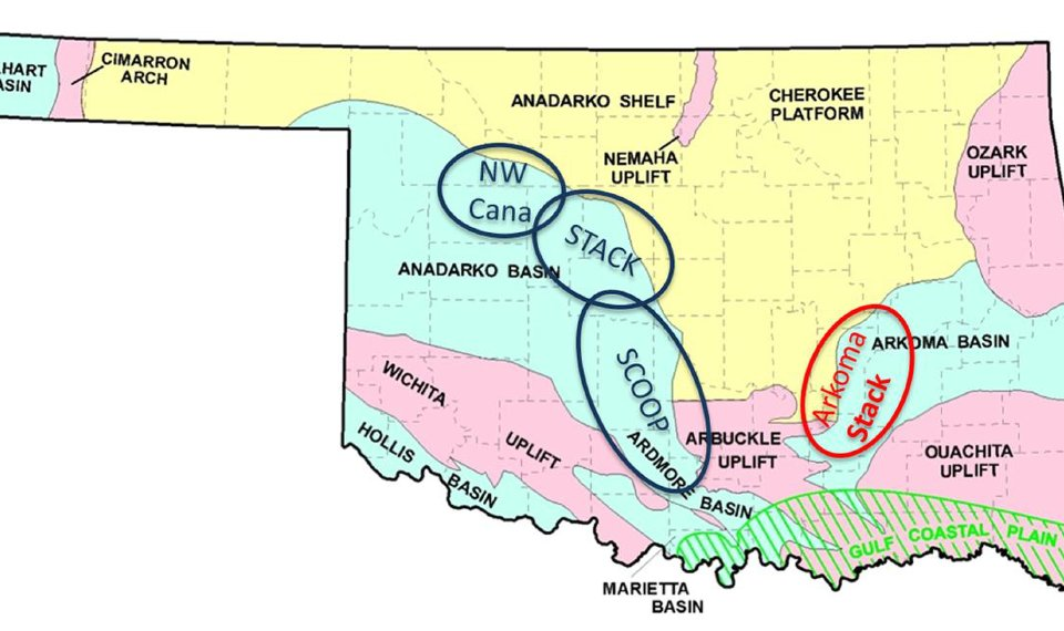 Arkoma Stack in southeastern Oklahoma expected to take off by one ...