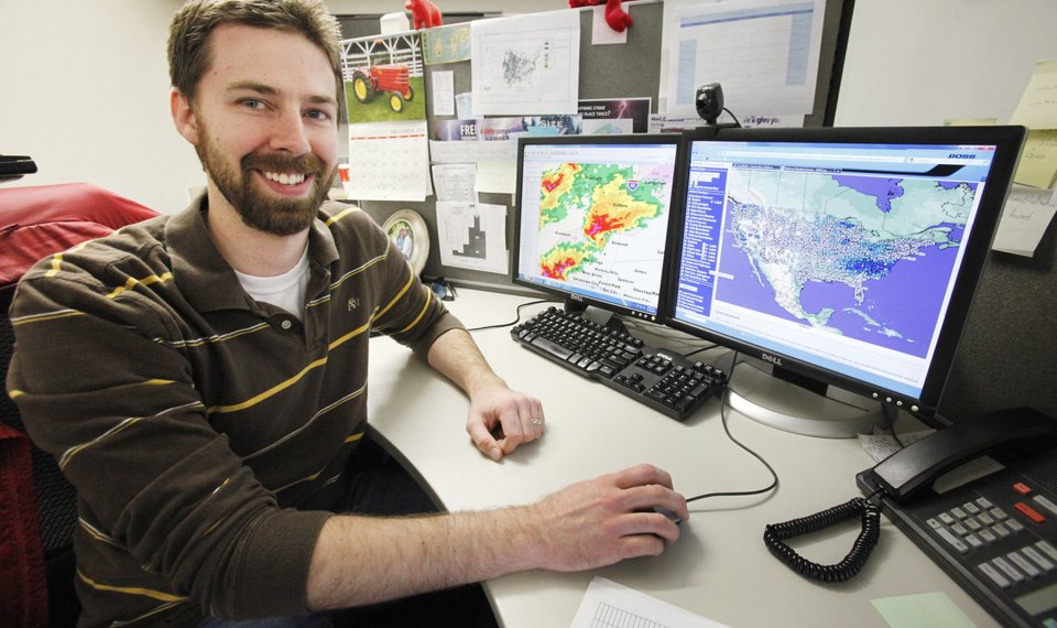 Oklahoma Forensic Meteorologists Look Backward Not Forward