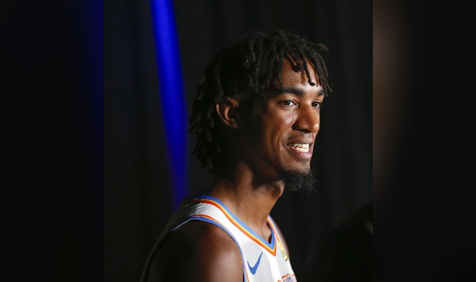 Terrance Ferguson 'excited' about Thunder exercising...