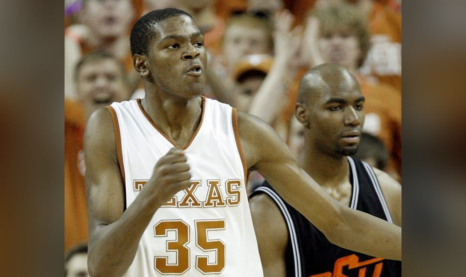 7f96ccaddca Kevin Durant is returning to the University of Texas for a preseason game  Tuesday against San