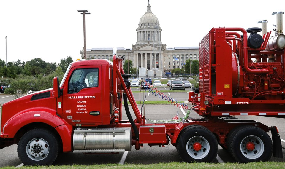 Oil-field service units at Capitol a 'visual reminder'