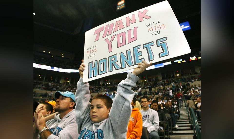 NBA  How a two-year relationship with the Hornets showed the country ... 346828110