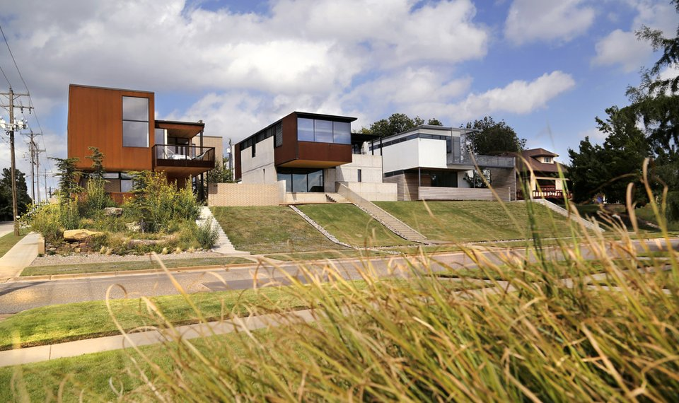 New contemporary homes continue to spread from where it all started six years ago at