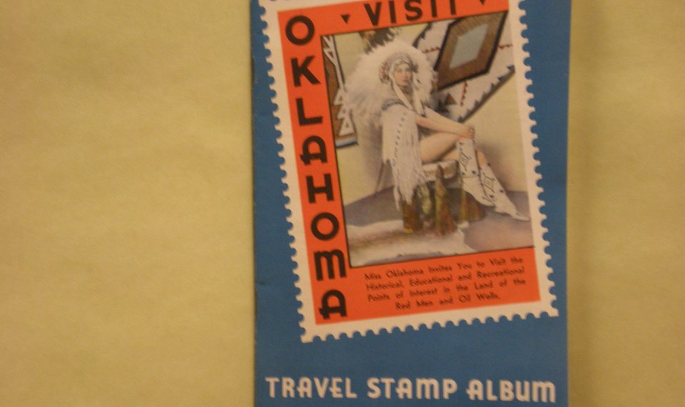 The Archivist: 1940 stamp book showcased 50 great places in
