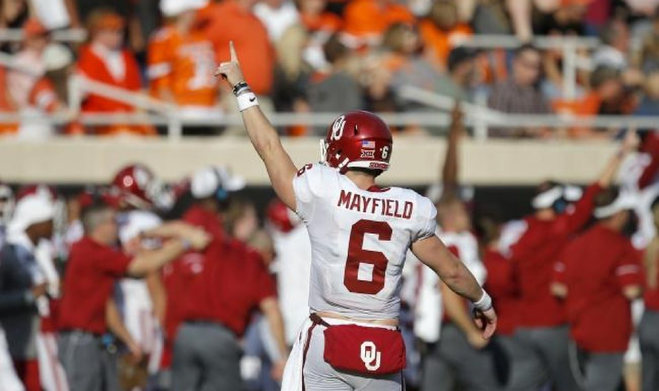 finest selection 6d73b b6f9e OU football: Baker Mayfield tops the list of the 150 ...
