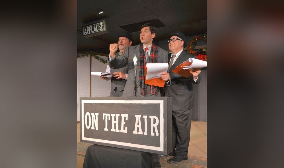 theater review it s a wonderful life a radio on stage show