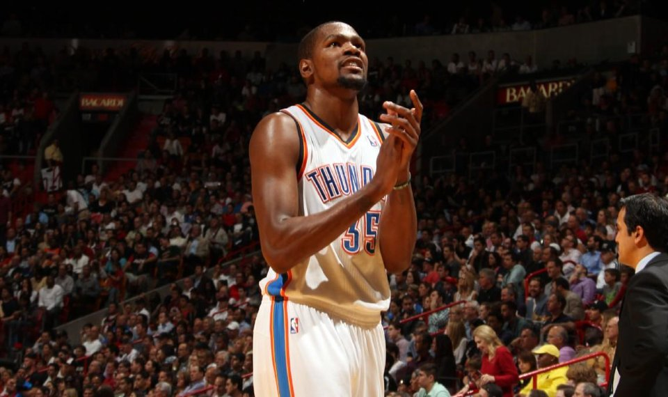 fcfa2a7ccdb5 OKC Thunder  Kevin Durant watch will make for a long two years