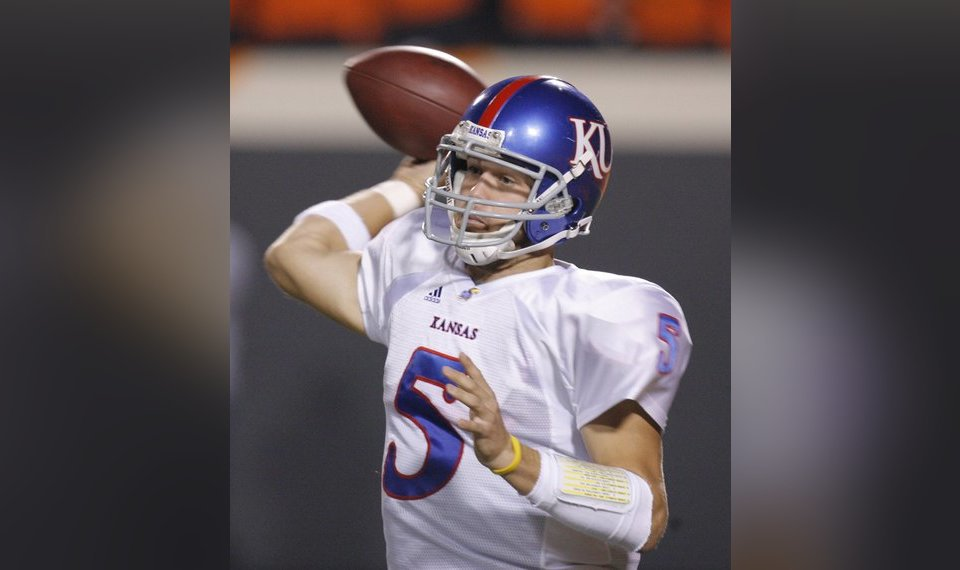 Kansas' Todd Reesing set for big senior season