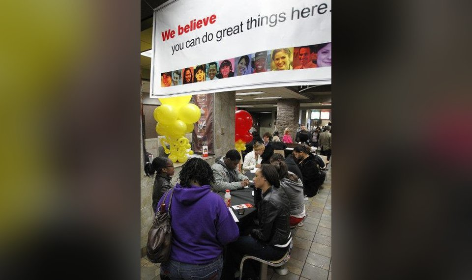 McDonald's serves high hopes, new jobs