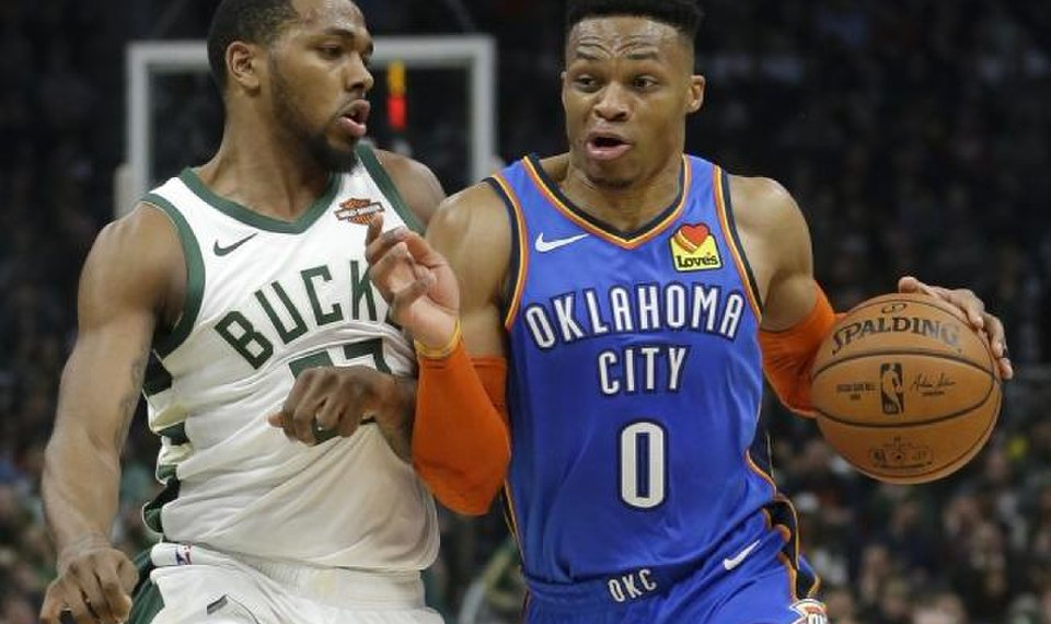 Russell Westbrook says tying Magic Johnson for No  2 on NBA's triple