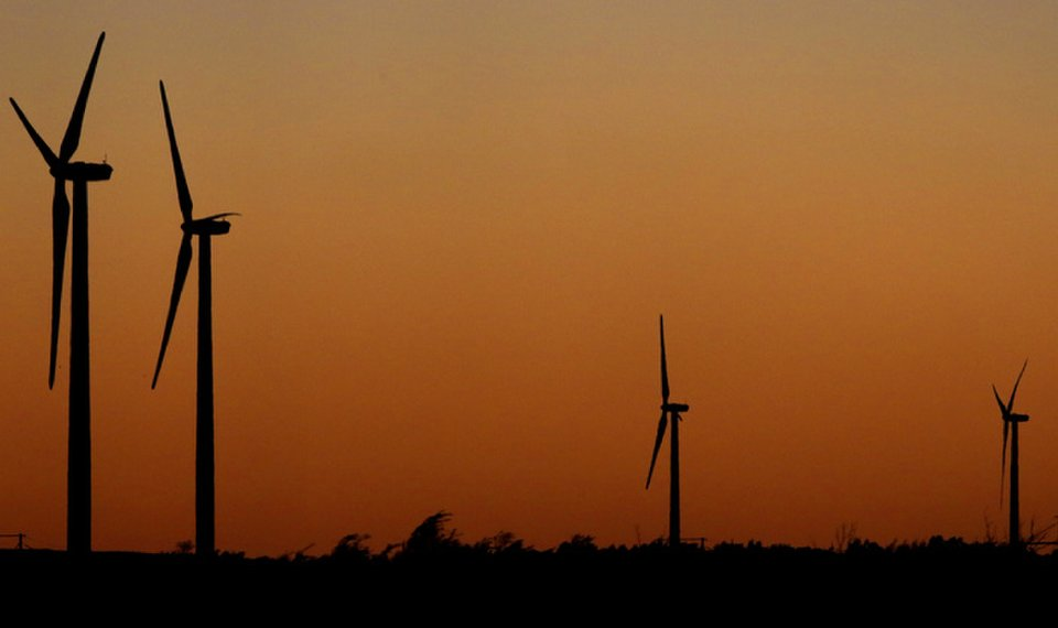 Oklahoma moves into No  2 spot for wind power capacity in