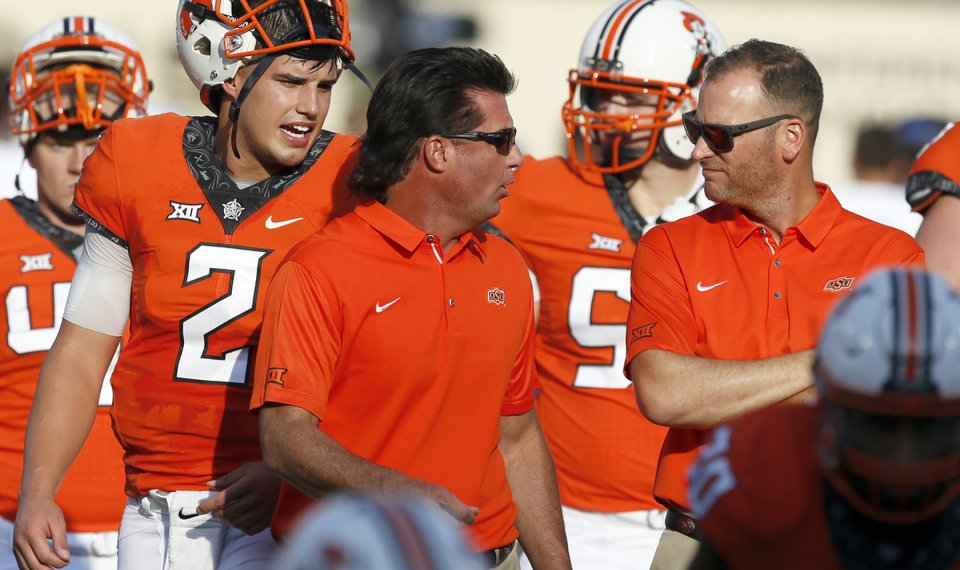 OSU's Mike Gundy is ready to put his beefed-up analyst ...
