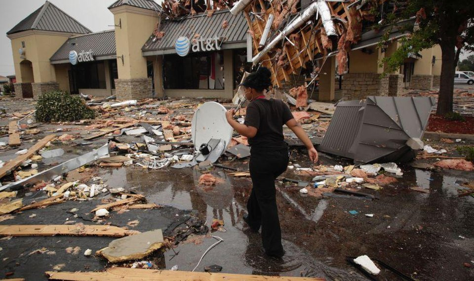 10 Tulsa businesses in path of tornado condemned as city