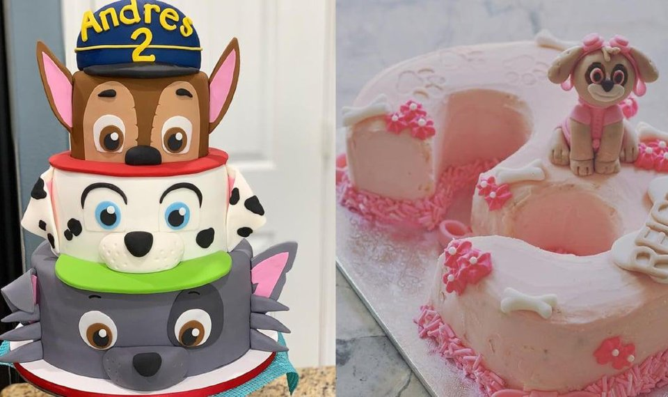 Tremendous Paw Patrol Is On A Roll And These Themed Cakes Are Ready For Birthday Cards Printable Inklcafe Filternl