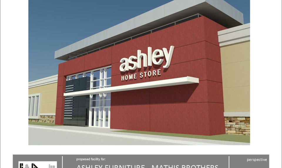 Mathis Brothers Partners With Ashley Furniture For Retail Concept Classy Ashley Furniture Distribution Center Concept
